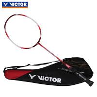 VICTOR胜利挑战者羽毛球拍 单拍轻碳素羽拍 进攻型训练比赛球拍