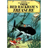 The Adventures of Tintin: Red Rackham's Treasure 丁丁历险记・红色拉克姆的宝藏 ISBN 9780316358347