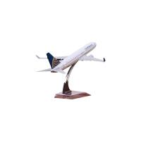 东方航空波音747客机飞机模型合金航天民航模型b777飞机玩具模型