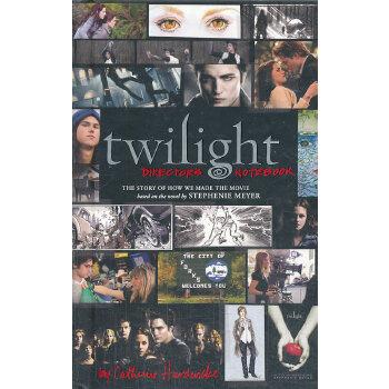 Twilight: Director's Notebook 9780316070522 英文原版