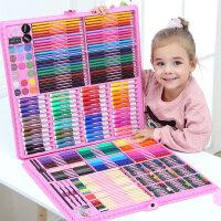 儿童画笔套装水彩笔绘画学习用品小学生画画工具礼盒女孩学习用品