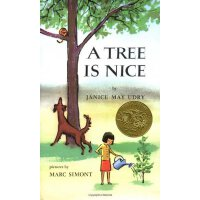 A Tree Is Nice [Hardcover](Caldecott Winner) 树真好(凯迪克金奖,精装)