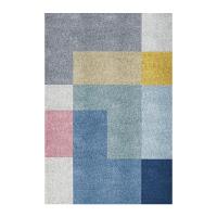 北欧风客厅地毯茶几小地垫简约几何卧室儿童房间地毯
