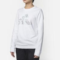 Adidas阿迪达斯 女装 运动休闲圆领卫衣套头衫 DT2372