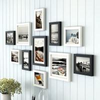 简约现代照片墙装饰创意个性相框墙客厅卧室相片框挂墙组合连体挂