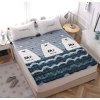 儿童床垫子1.5m床1.5米睡垫被褥子1.5m榻榻米1.8米折叠保暖