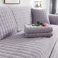沙发垫套冬季防滑毛绒保暖加厚定做沙发坐垫套巾罩四季通用型套