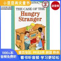 英文绘本 原版进口 The Case of the Hungry Stranger 饥肠辘辘的陌生人事件