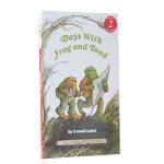 英文原版 I Can Read Days with Frog and Toad 与青蛙和蟾蜍在一起的日子 汪培�E推荐三