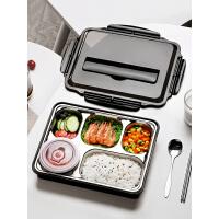 送饭盒便当学生打饭保温上班族健身多格餐盒套装日式大容量分隔型
