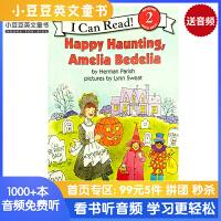 英文原版 Happy Haunting, Amelia Bedelia [4-8岁]#