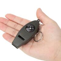 征伐 口哨 指南针放大镜温度计四合一口哨带指北针多功能户外工具 两个装