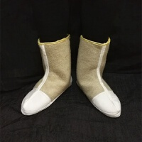毛毡袜子冬季雨雨靴冷库专用袜套劳保矿工棉袜煤矿毡袜
