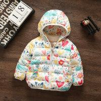 童装冬装女童加厚棉衣外套1-2-3岁4女宝宝棉袄婴儿小童冬季潮