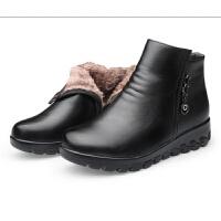 大棉鞋女 大棉鞋女加厚冬季加绒中年妇女婆婆鞋子-50岁东北妈妈短靴hgl