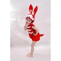 六一儿童节小白兔大灰狼动物表演服小兔子乖乖话剧舞蹈演出服装
