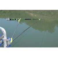 户外地插垂钓渔具用品新款2.1米不锈钢炮台钓鱼竿支架手竿架杆架竿