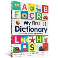 现货英文原版 My First Dictionary 儿童图解字典词典 低幼英语启蒙认知图画工具书 英语入门字典教材