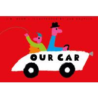 英文原版 父子开车 《纽约时报》2018年度绘本 Jan Bajtlik插画 Our Car