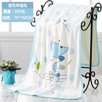 宝宝浴巾婴儿新生儿童幼儿园长正方形毛巾被加大超柔软吸水春冬季