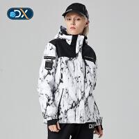 【�p12��先�:599元】Discovery非凡探索�敉馓铰氛咔锒�新品保暖防�L女式滑雪服DAHG92652