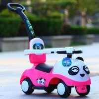 【支持礼品卡】儿童加推把滑行车学步车*款扭扭车可拆卸护栏5qd