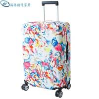 弹力行李箱套拉杆箱旅行防尘罩袋抽象图案保护套 印花款