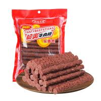 【支持礼品卡】韧爽牛肉条500g牛肉棒肉干宠物狗狗零食补钙训练奖励6nd
