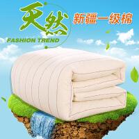 棉被冬季100%纯棉花被新疆棉花被被芯被子冬被全棉单人冬季加厚保暖纯棉花垫被棉絮床垫