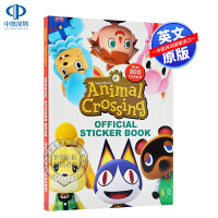 动物森友会官方贴纸书 英文原版 Animal Crossing Official Sticker Book Ninten