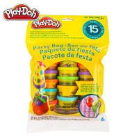 培乐多彩泥多彩派对包15罐套装粘土橡皮泥儿童手工玩具 培乐多多彩派对包18367