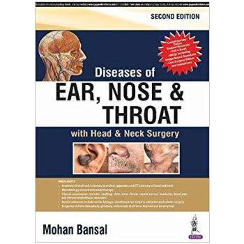 【预订】Diseases of Ear, Nose and Throat 9789386261519 美国库房发货,通常付款后3-5周到货!