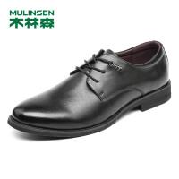 木林森男鞋2018秋季新款商务休闲鞋 87053032