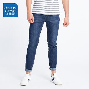 [尾品汇价:87.9元,20日10点-25日10点]真维斯男装 夏装商务牛仔裤