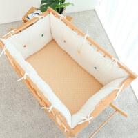 婴儿床上用品床围套件儿童秋冬羊羔绒抱枕靠垫防撞床护栏 其它