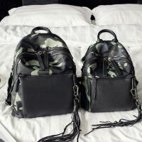 特卖 新款包小包牛津布帆布迷彩女士双肩包韩版休闲百搭背包 迷彩--小号 现货