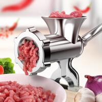 白领公社 手动绞肉机 手摇碎肉器家用小型多功能碎肉机灌香肠机多功能料理机