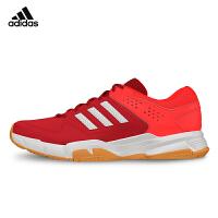 adidas阿迪达斯 羽毛球鞋轻便透气防滑弹力减震 男运动鞋