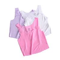 笛莎童装女童文胸2021春季新款中大童儿童少女背心青春期家居内衣