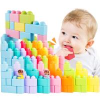 宝宝软积木1-2周岁硅胶宝宝软胶积木3婴儿6岁玩具益智启蒙
