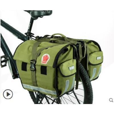 骑行尾座包大容量驮包挎包手拎包山地自行车装备包驮包多用途后货架包 品质保证,支持货到付款 ,售后无忧