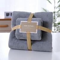 木偶奇遇MO081网红毛巾浴巾套巾高密珊瑚绒毛巾浴巾