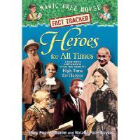 英文原版 神奇树屋 Magic Tree House Fact Tracker #28: Heroes for All