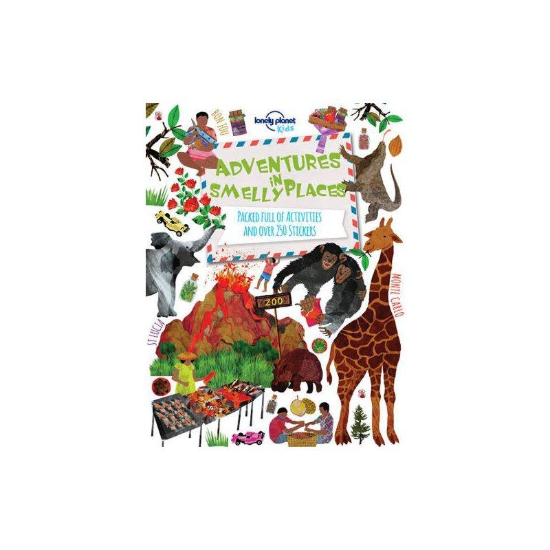 Lonely Planet Adventures in Smelly Places 孤独星球儿童版·在有气味的地方冒险:活动及贴纸书