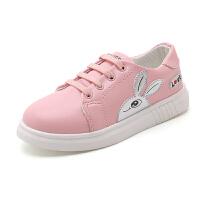 �和��\�有�女童鞋秋季2018新款�n版公主�W生休�e鞋中大童女孩板鞋