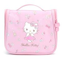 新品 旅行洗漱包 女可爱化妆包收纳包防水 凯蒂猫