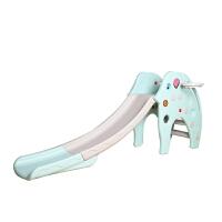 ?多功能儿童滑滑梯加长 儿童室内上下滑梯宝宝小型滑滑梯家用玩具? 10_加高加大 大象滑梯+框+音乐 粉色