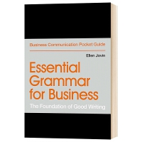 商务基础语法 优秀的写作基础 英文原版 Essential Grammar for Business The Foun