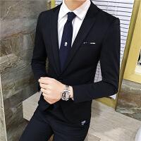 男士休闲小西服韩版小西装男修身青年外套男装发型师西