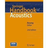 【预订】Springer Handbook of Acoustics 9781493907540